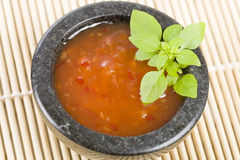 Sweet Chili Sauce Stock Photography