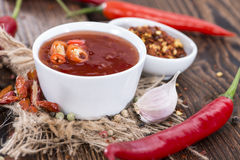 Sweet Chili Sauce Stock Photo