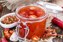 Sweet Chili Sauce Royalty Free Stock Photos