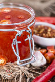 Sweet Chili Sauce Royalty Free Stock Photo