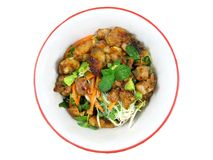 Sweet Chilli Chicken with Lime 1 Royalty Free Stock Photography