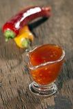 Sweet chilli sauce Stock Photo