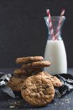 Sweet chip cookes Royalty Free Stock Photo