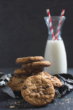 Sweet chip cookes Royalty Free Stock Image