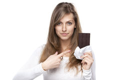 Sweet chocolate Royalty Free Stock Photography