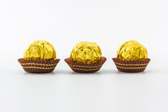 Sweet chocolate ball. Royalty Free Stock Photos