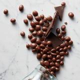 Sweet chocolate balls Stock Photography