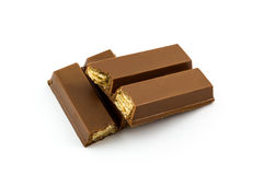 Sweet chocolate bars. Royalty Free Stock Image