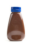 Sweet chocolate in bottle Royalty Free Stock Photography