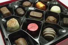 Sweet chocolate box Royalty Free Stock Photos