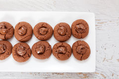 Sweet Chocolate Cake Stock Image