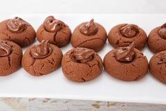 Sweet Chocolate Cake Stock Photography