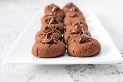 Sweet Chocolate Cake Stock Photos