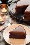 Sweet chocolate cakes. Stock Image