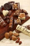 Sweet chocolate candies Royalty Free Stock Photo