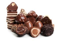 Sweet chocolate candy Royalty Free Stock Images