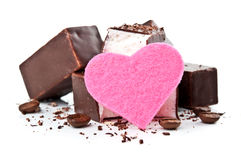 Sweet chocolate candy Stock Photography