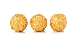 Sweet chocolate candy wrapped Stock Photography