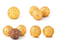 Sweet chocolate candy Stock Images