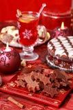 Sweet chocolate for Christmas Stock Photography