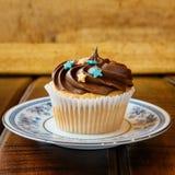 Sweet chocolate cupcake Stock Photo