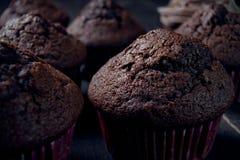 Sweet chocolate muffin Stock Photography