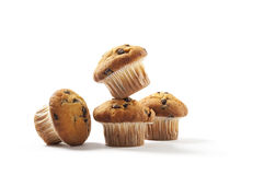 Sweet chocolate muffins Stock Photography