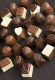 Sweet chocolate pralines Royalty Free Stock Image