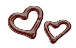 Sweet chocolate sauce Royalty Free Stock Photos