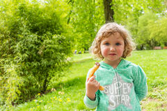 Sweet chocolate snack, Luxembourg. Spring Royalty Free Stock Photos