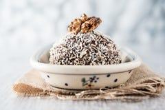 Sweet chocolate truffles Royalty Free Stock Photo