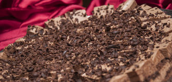 Sweet choko cake Stock Photography