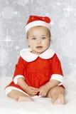 Sweet christmas baby Royalty Free Stock Photo