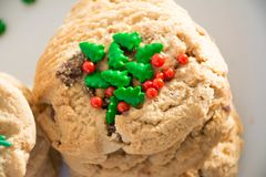 Sweet Christmas Cookies Royalty Free Stock Photography