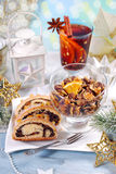 Sweet christmas eve Stock Images