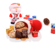 Sweet Christmas gifts Royalty Free Stock Photography