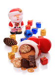 Sweet Christmas gifts Royalty Free Stock Photo