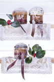 Sweet Christmas, Panettone Royalty Free Stock Photo