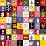 Sweet Christmas pattern Royalty Free Stock Photography