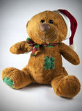 Sweet christmas teddy bear Royalty Free Stock Images
