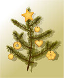 Sweet Christmas tree Royalty Free Stock Image