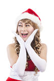 Sweet christmas woman 1 Royalty Free Stock Photo