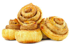 Sweet Cinnamon Rolls Royalty Free Stock Photography
