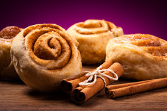 Free Sweet Cinnamon Rolls Royalty Free Stock Photos - 29889238