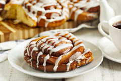 Sweet Cinnamon Rolls Stock Photo