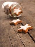 Sweet cinnamon stars Stock Photography