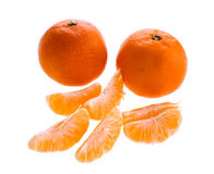 Sweet clementines Stock Photo