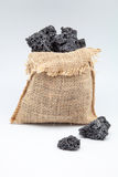 Sweet coal Stock Images