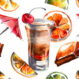 Sweet cocktail Stock Photography