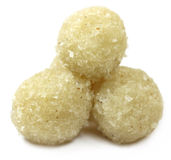 Sweet coconut ball named as Naru Royalty Free Stock Image